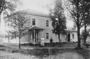 David Green house in 1907