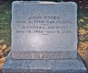 John & Barbara Green edited