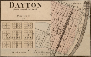 Map of Dayton