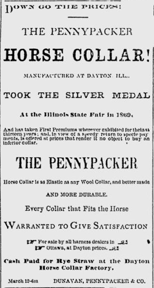 Pennypacker horse collars