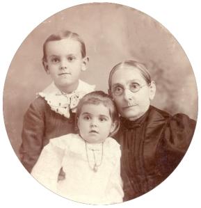Mary Stadden Green and children