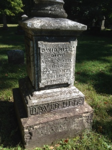 David Hite tombstone