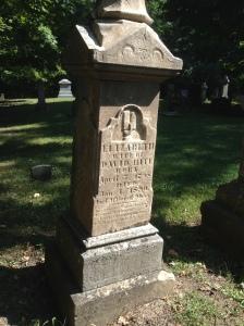 Elizabeth Hite tombstone