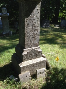 William Stadden (d 1848) tombstone