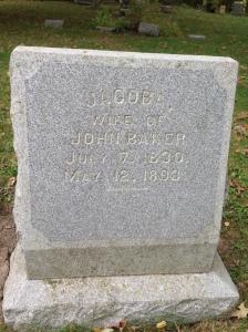Jacoba Baker tombstone