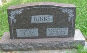 photo of Bibbs tombstone