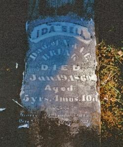photo of Brunk, Ida Bell - tombstone