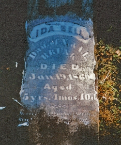 photo of Brunk, Ida Bell - tombstone
