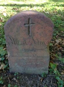champaign-albert-john tombstone