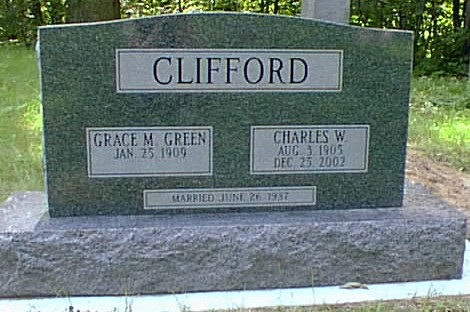 photo of Clifford tombstone