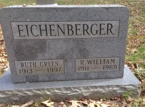 Eichenberger tombstone