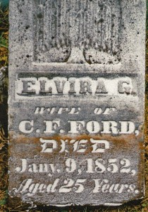 photo of Ford, Elvira G - tombstone