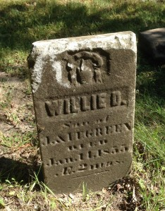 Willie Green tombstone