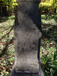 hippard-mary - tombstone