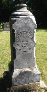 Maria Hollenbeck tombstone