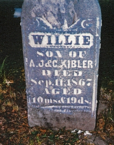 photo of Kibler, Willie - tombstone