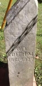 Edith Luce tombstone