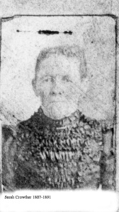 Makinson, Sarah Crowther
