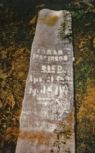 photo of Makinson, Sarah - tombstone