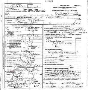 McKibben, David - death certificate