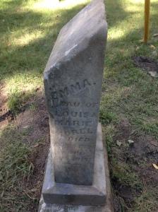 morel-emma - tombstone
