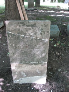 Ann Muddamin tombstone