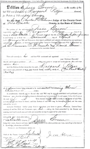 Pitzer, Margaret - death date document