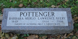 photo of Lawrence Pottenger tombstone