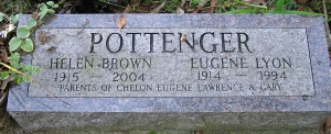photo of Pottenger tombstone