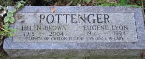 photo of Pottenger tombstone