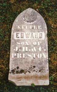 photo of Preston, Edward - tombstone