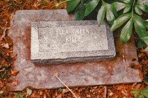 photo of Riley, Ella Green - tombstone