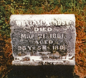 photo of Rust, William - tombstone