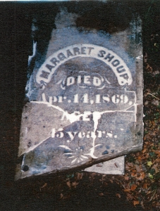 photo of Shoup, Margaret - tombstone