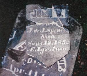photo of Spencer, John W - tombstone