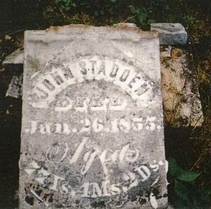 photo of Stadden, John - tombstone