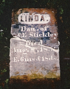 photo of Stickley, Linda - tombstone