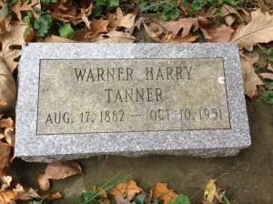 Tanner, Warner Harry