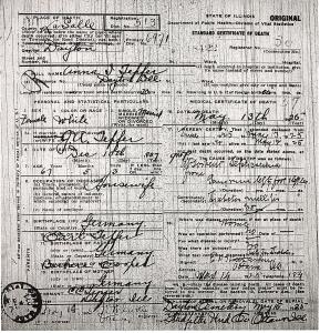 Tepfer, Anna - death certificate