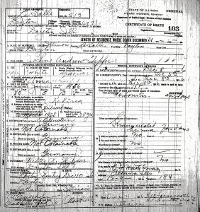Tepfer, John Andrew - death certificate