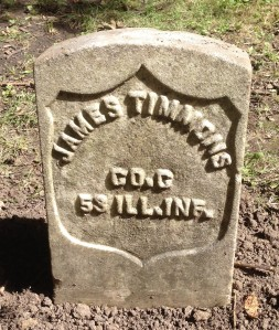 James Timmons tombstone
