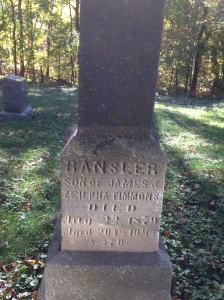 Ransler Timmons tombstone