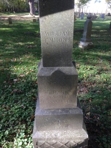 timmons-william-james-frank tombstone