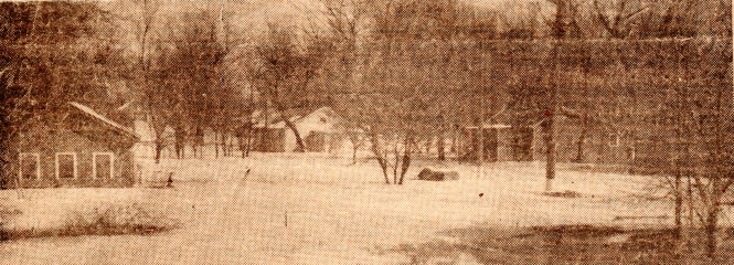 houses flooded in 1943