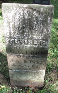 Elvira Ford tombstone