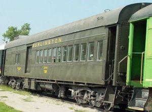 Burlington passenger car