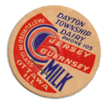 Dayton Dairy bottle caps