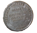 Dayton Dairy cottage cheese lid