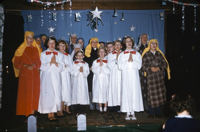 School Christmas program