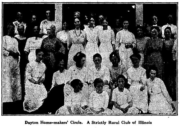 Dayton Homemakers 1912